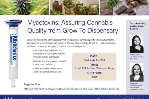 VICAM Webinar: Cannabis-Qualität sichern. Vom Anbau bis zur Apotheke